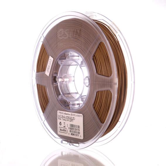 Esun PLA BAMBOO filament 1,75mm NATUR 0,5kg